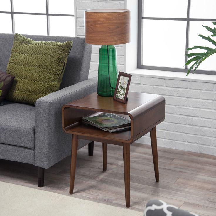 Belham Living Carter Mid Century Modern Side Table