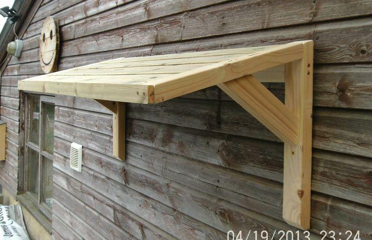 Timber Front Door Canopy Porch Bespoke Hand Made Porch Light Weight   eBay
