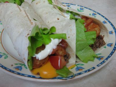 This post was written by our contributor, Jill Adams. For more of her recipes, visit jbeanrecipes.blogspot.com. I love Taco Johns. However, I live two hours from the nearest one. So I decided to make my own version of their Meat and Potato Burrito. It actually turned out pretty good. We'll definitely be making them again! …