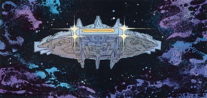 Valerian and Laureline Spaceship by Jean-Christophe Tilman at Coroflot.com