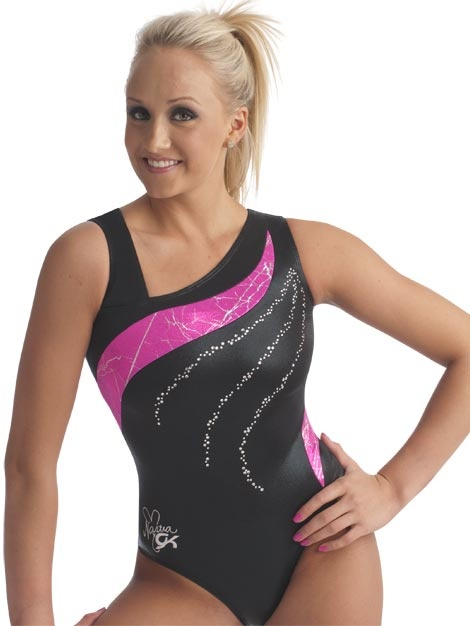 Nastia Liukin Asymmetrical Leotard from GK Elite - This one is no longer available but I wish they'd bring it back!