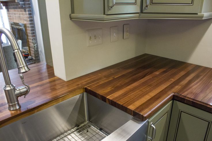 Solid Black Countertops : 1000+ images about Solid Black Walnut Kitchen Countertops on Pinterest ...