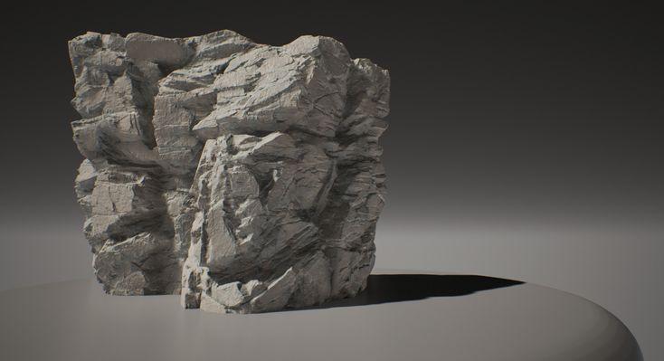 ArtStation - Rocky UE4, adam dunne