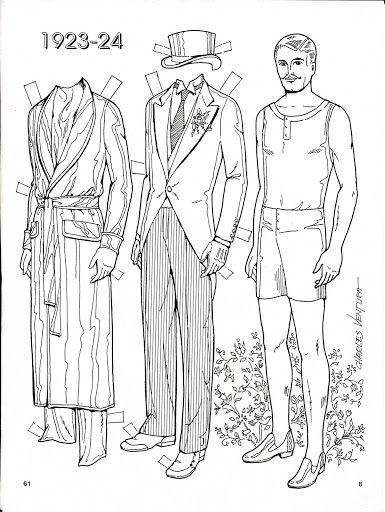 Three Brides 1923-24 Paper Dolls by Charles Ventura - Nena bonecas de papel - Picasa-Webalben Hochzeitspuppen auch auf http://de.pinterest.com/jillturner99/paper-dolls-bridal/
