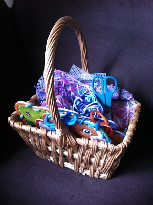 A Sewing Basket for Children, great hand work ideas.