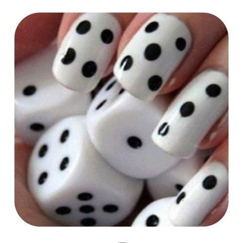 Dice nails! Love!