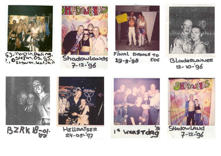 Gabba Polaroid Part 1NL, 96 - 98