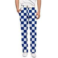 Loudmouth Derby Chex Golf Trousers sale title=