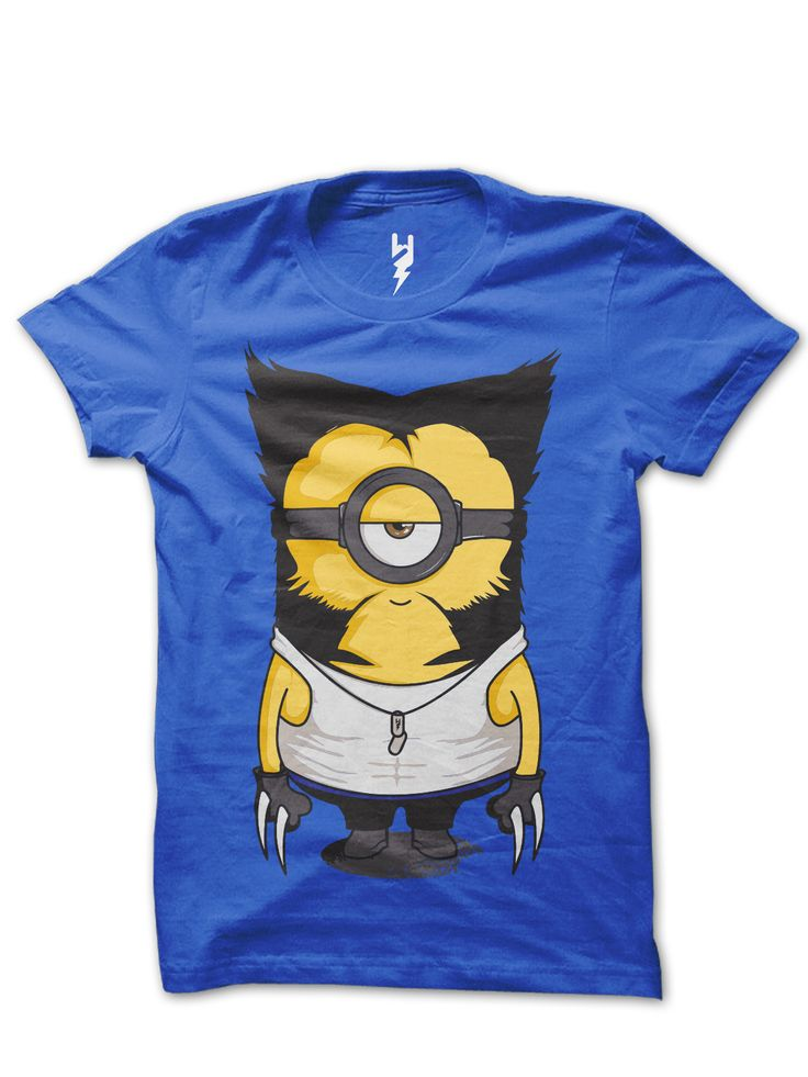 Wolverinion from XTEAS Despicable Me series mashup with Wolverine - A source told the Daily News that Wolverine be taking a fantastic stab at playing the minion. - Wolverine Series Inspired Tee