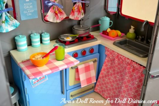 Our Generation Doll Camper Makeover Glamping Ava S Doll