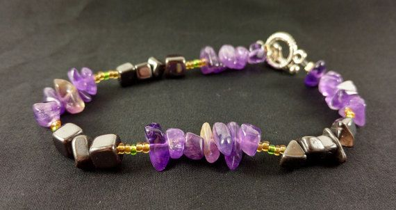 Handmade Crystal Bracelet for Quelling Frustration by CrystalRx