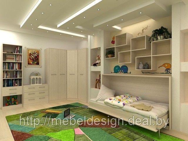 Мебель в детскую с подъемной кроватью от производителя на заказ, цена 1 242,08 руб., купить в Минске — Deal.by (ID#1538306)