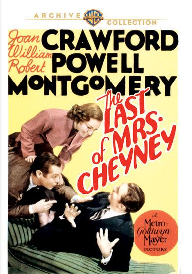 The Last of Mrs. Cheyney(1937) -William Powell, Robert Montgomery, Frank Morgan, Jessie Ralph, Nigel Bruce, Benita Hume