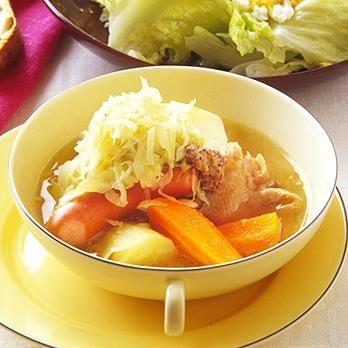 アルザス風夏ポトフ   坂田阿希子さんのシチューの料理レシピ   プロの簡単料理レシピはレタスクラブニュース