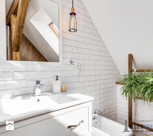 Fotografia wnętrz, www.studiolighthouse.pl - zdjęcie od studiolighthouse.pl  - fotografia wnętrz white bathroom | scandinavian design | minimalism | rustic | inspiration | design