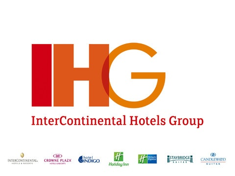 InterContinental Hotels Group includes InterContinental Hotels & Resorts, Crowne Plaza Hotels & Resorts, Hotel Indigo, Holiday Inn, Holiday Inn Express, Staybridge Suites, and Candlewood Suites.
