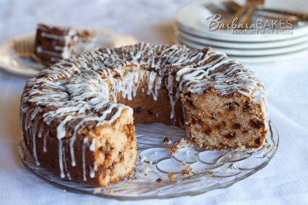 Recipe Rewind: New and Improved Snickerdoodle Coffee Cake | BarbaraBakes.com