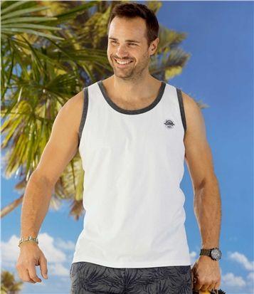 Lot de 3 Débardeurs Summer Sport #travel #voyage #atlasformen #formen #discount #shopping #ootd #outfit #formen #hommes #man #homme #men