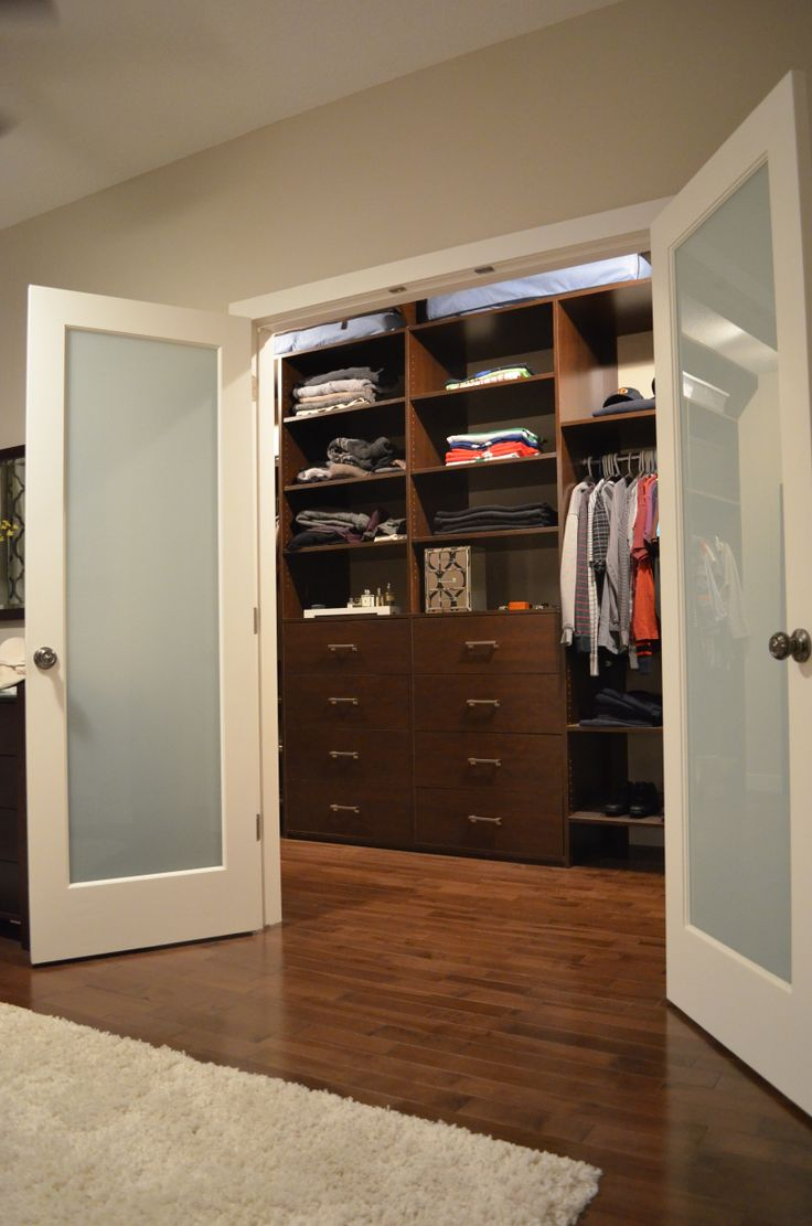 Walk in Closet, Wifes design, I assisted a skilled friend to accomplish the build.
