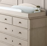 Restoration HW baby tate dresser with changing table topper