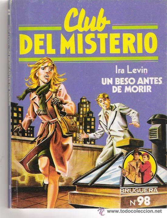 Coleccion libros policiacos Club del Misterio editorial Bruguera España años 80s.