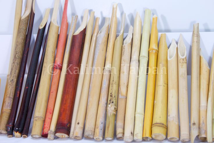 Bamboo Qalam Arabic Calligraphy reed pens https://www.etsy.com/shop/Kalimate?ref=pr_shop_more