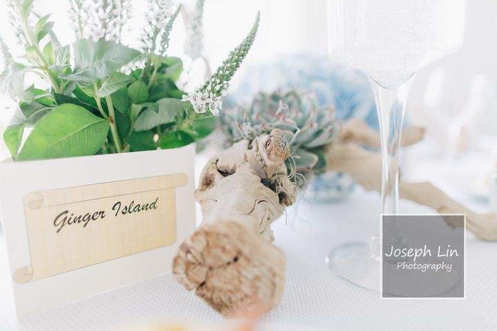 Pastel Beach Wedding From Joseph Lin Photography see more http://www.itakeyou.co.uk/wedding/beach-wedding-from-joseph-lin-photography/ bride and groom, newlywed,beach wedding photos,beach wedding table name,beach wedding table decorations