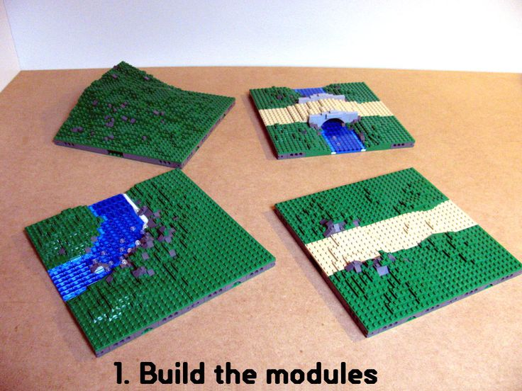 Landscaping modules