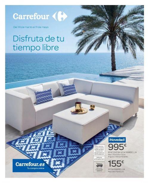 Muebles Jardín Carrefour Verano 2018 Todo El Catálogo Hogar