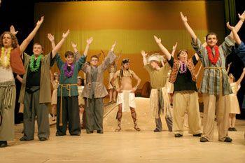 Joseph and the Amazing Technicolor Dreamcoat Costume Rental in Phoenix | Theater Costume Rentals