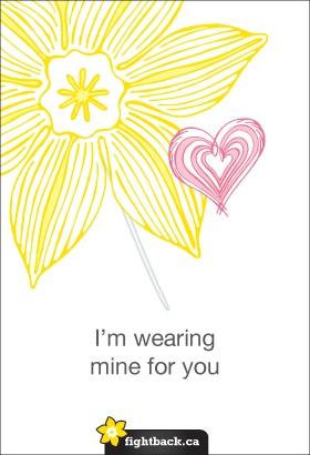 #DaffodilMonth Canadian Cancer Society