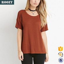 Hot Sale Women Stripe Fabric T-shirt 100% Polyester Custom T shirt  Best buy follow this link http://shopingayo.space