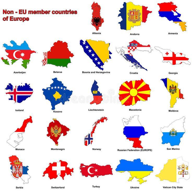 Non Eu Countries Flag Maps Flag Maps Of All The Non Member European Countri Sponsored Flag Maps E Flags Of European Countries Flag European Flags