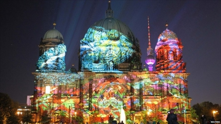 Berlin, Festival of Lights, takes place annually in early October