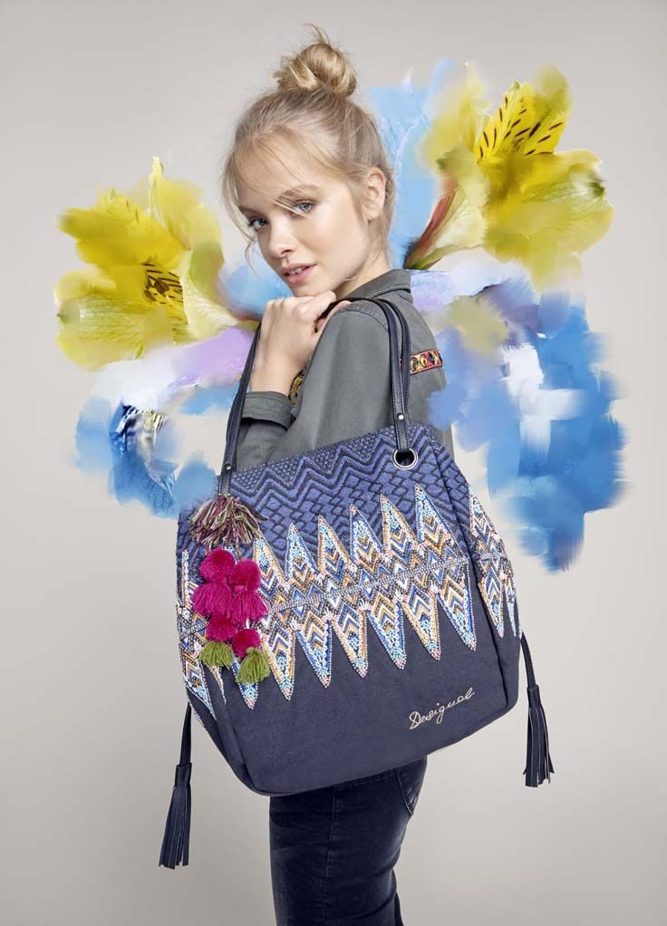 With its handcrafted details and versatile shape, this bag oozes style!