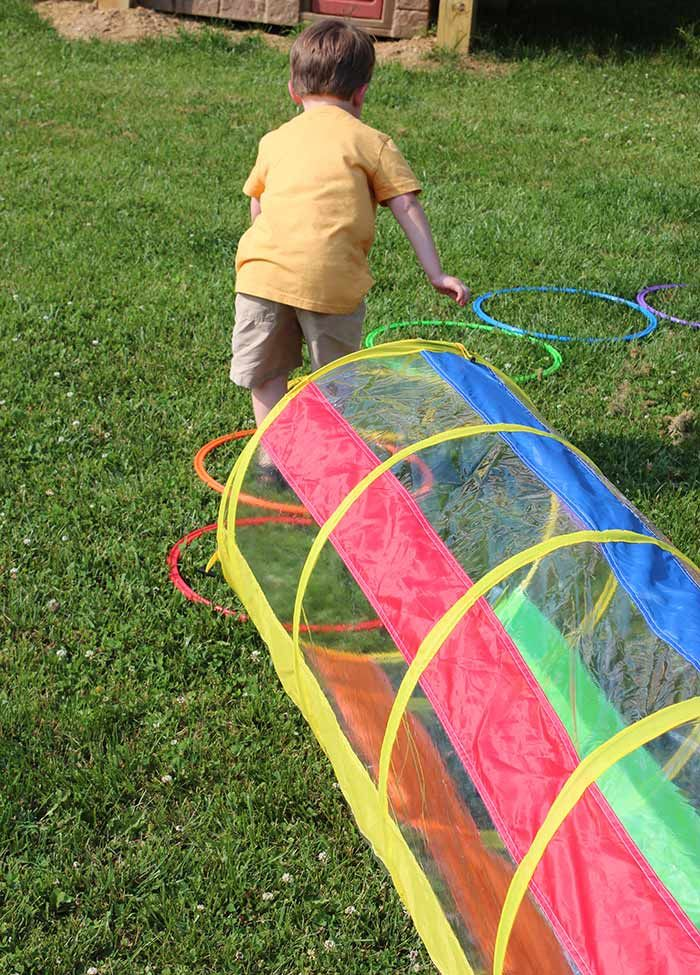 Let Kids Build a Backyard Obstacle Course with Free ...