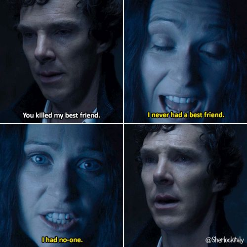 "Sherlock BBC ""The Final Problem"" (4x03) - Sherlock and Eurus"
