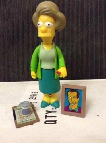 PLAYMATES LOOSE SIMPSONS EDNA KRABAPPEL TALKING!