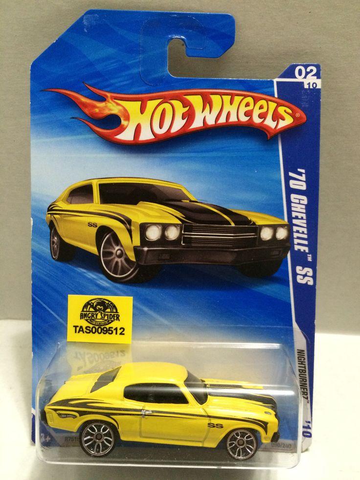 (TAS009512) - Mattel Hot Wheels Racing Stock Car - '70 Chevelle SS