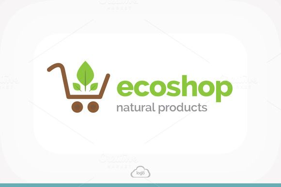 Check out Eco Shop Logo Template by Logo Heaven on Creative Market -> http://crtv.mk/hiNB