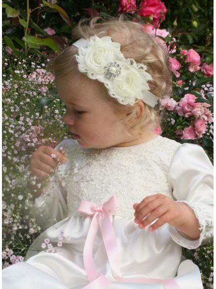 Dåpskjole Madde fra Grace of Sweden, vakker dåpskjole i høy kvalitet.