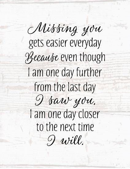 Sympathy Gift Missing You Wood Sign or Canvas Wall Art Mom