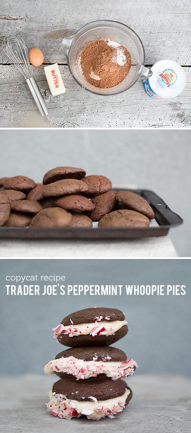 Every year Trader Joe's gets their holiday products in stock. They fly off the shelves and quickly as they arrived. Peppermint is king around the holidays and we love everything from the candy cane tea to the candy cane 'joe-joes' (Trader Joe's version of an oreo.) We decided to make our own version of the …
