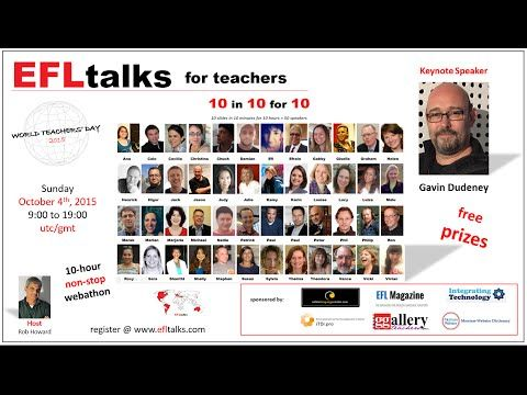EFLtalks - talks for teachers - videos
