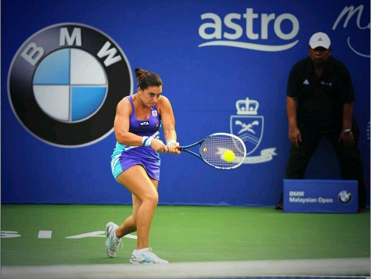Danka Kovinic: Happy to win my first round in @BMWMalaysiaOpen. Thank you for the support :))