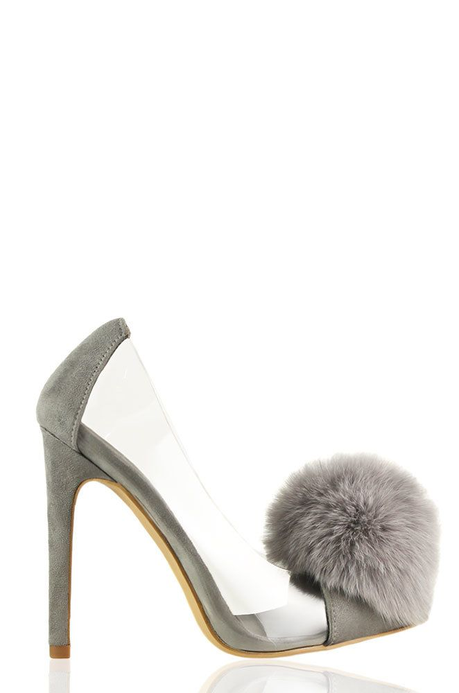 Lola Shoetique - What A Flirt - Grey, $42.99 (http://www.lolashoetique.com/what-a-flirt-grey/)