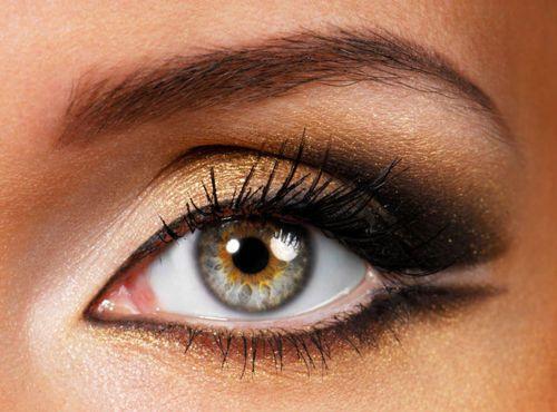 goldenCat Eye, Eye Makeup, Eye Colors, Eye Shadows, Eyebrows Shape, Hazel Eye, Eyemakeup, Eyeshadows, Smokey Eye