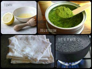 how to make kratom extract powder