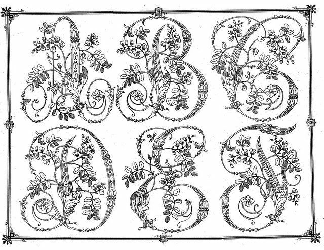 Circa 1920 embroidery patterns from Argentina- 04 . by Embroiderist, via Flickr