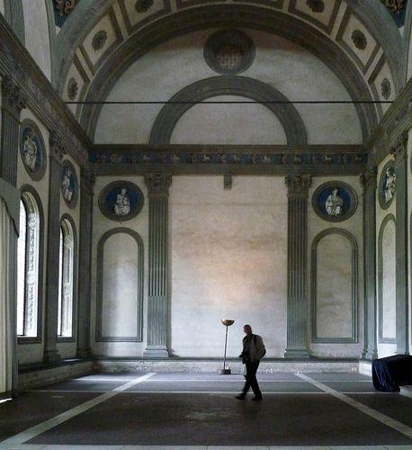 Filippo Brunelleschi, Pazzi Chapel, Santa Croce, Florence